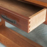 Detail drawer, hall table