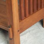 detail bottom leg, hall table