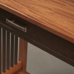 Hall table, closeup