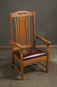 Sitting chair, front