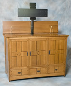 Entertainment center, TV stand